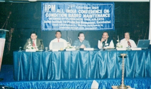 National Conference on Condition Monitoring where I was the keynote speaker