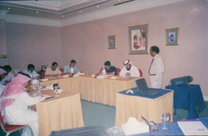 Public Seminar at Baharin -- conducting a course on Problem Solving