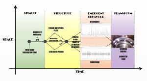 De Diagram explaining progression of phenomena